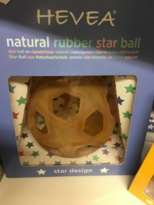 Hevea natural star ball