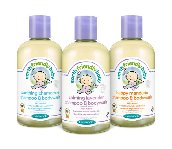Earth Friendly Baby shampoo-bodywash 9,80 €