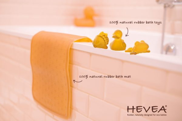 hevea, bath, natural rubber