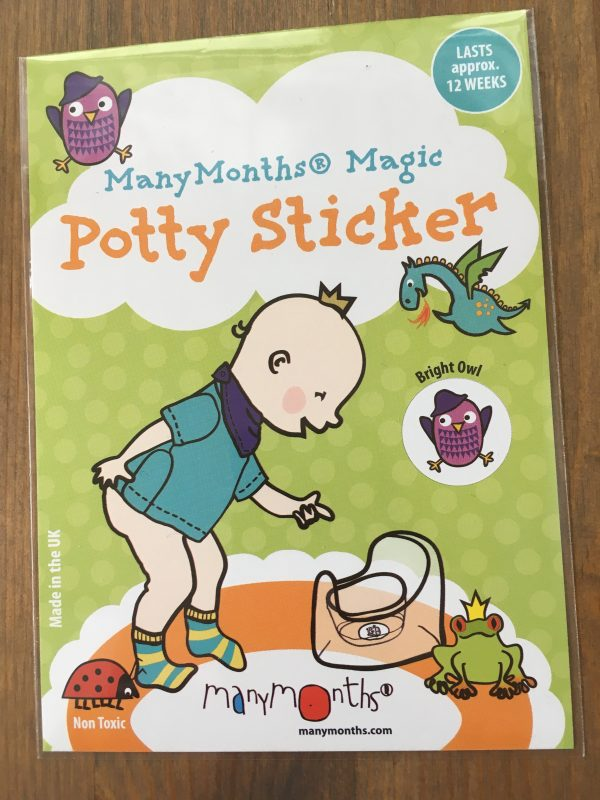 ManyMonths Potty Sticker - Bright Owl
