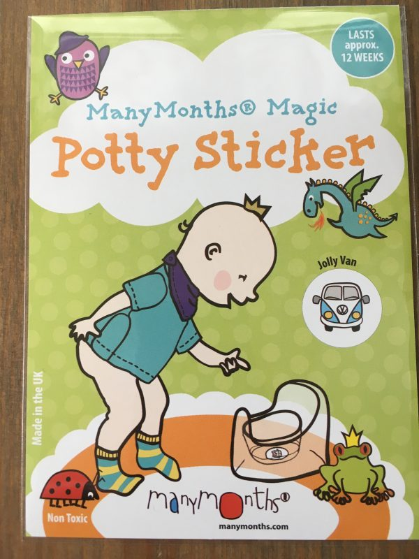 ManyMonths Potty Sticker - Jolly Van