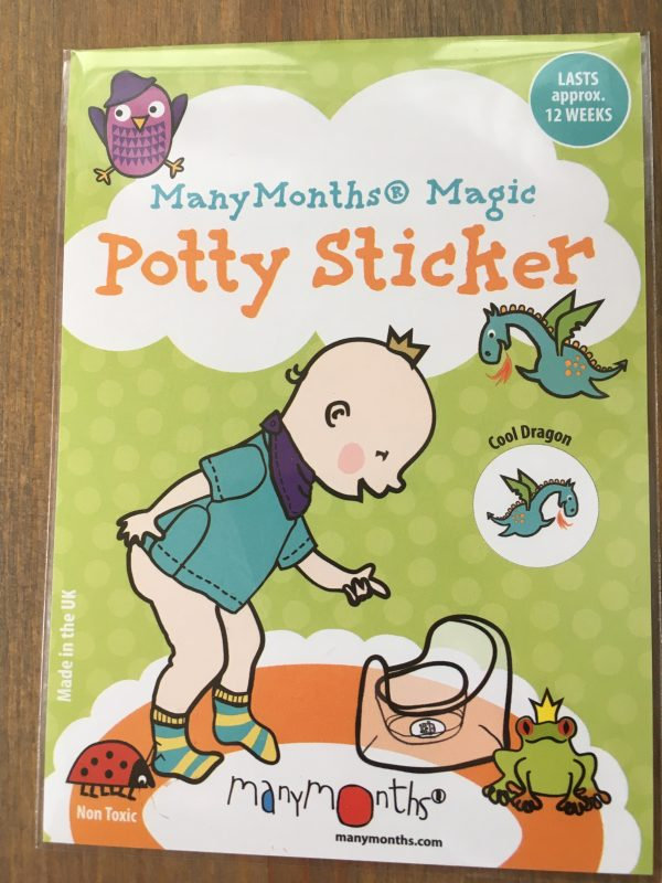 ManyMonths Potty Sticker - Cool Dragon