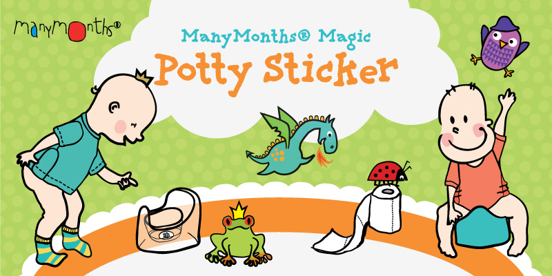 ManyMonths Magic Potty Sticker